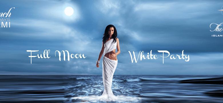 Soirée en blanc des French Tuesdays à Miami pour la pleine lune