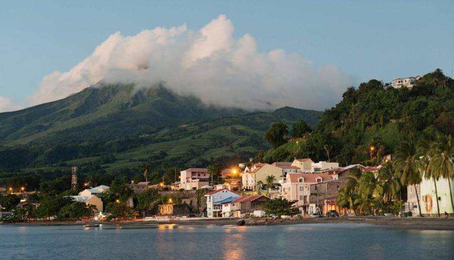 Ville de Saint Pierre, Saint-Pierre City, Martinique