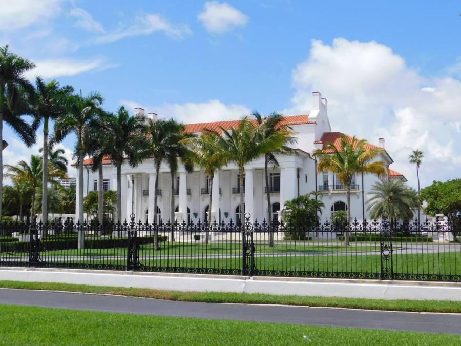 Le Flager Museum sur l'île de Palm Beach