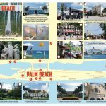 Carte touristique de Palm Beach et West Palm Beach