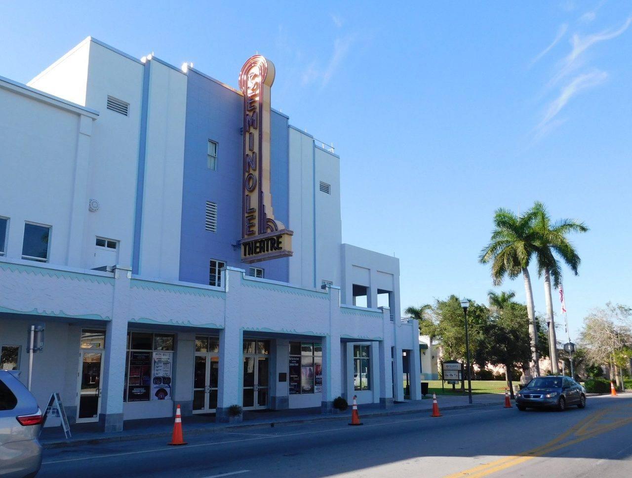 """Cinéma """"Seminole"""" de Homestead (près de Miami en Floride)"""