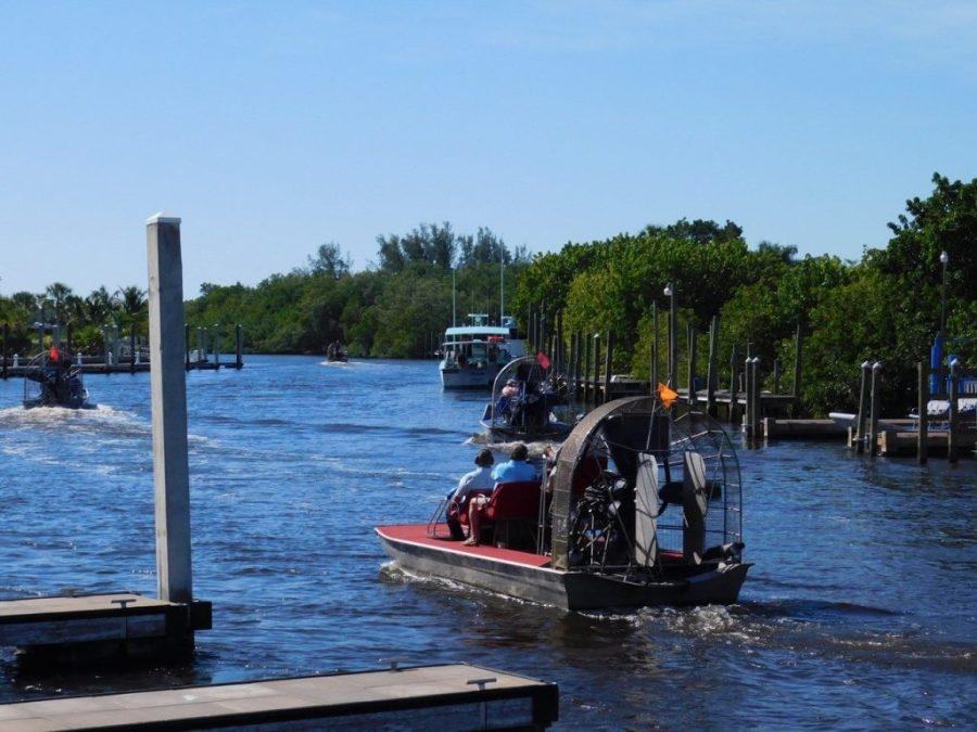 Hydroglisseurs à Everglades City