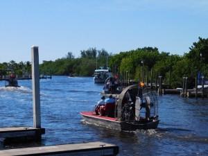 Aéroglisseurs à Everglades City