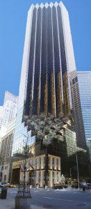 La Trump Tower sur la 5ème avenue de New-York
