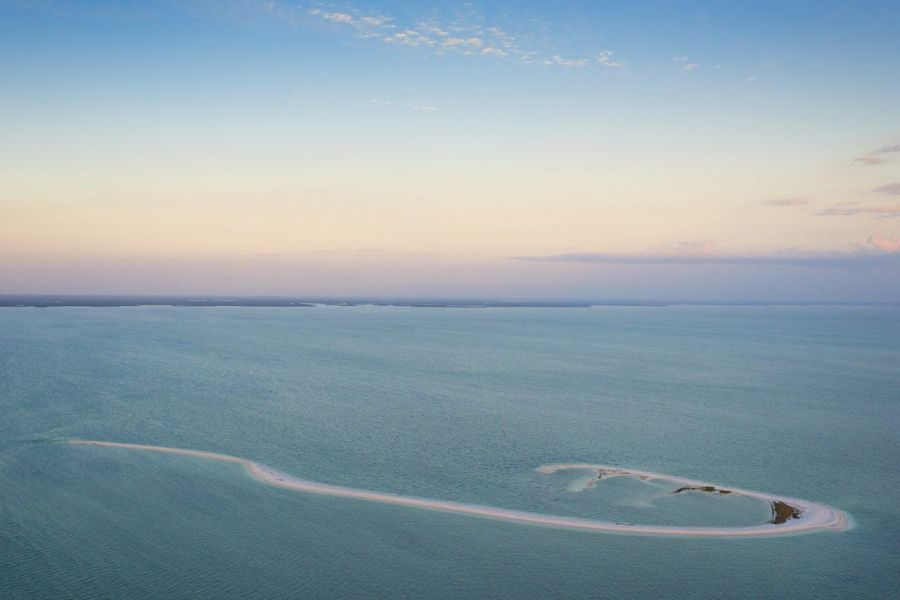 Cape Romano (10 000 Islands des Everglades) Crédit photo : Darron R. Silva)