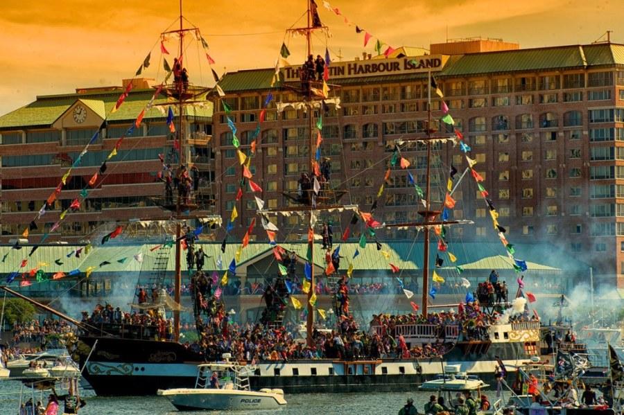 L'invasion des pirates à Tampa