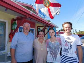 Restaurant Rudy's sur Anna Maria Island en Floride.