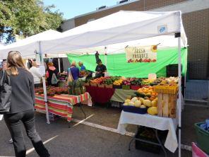 Farmer Market sur la Main Street de Bradenton