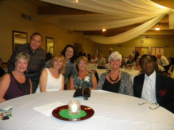 Michèle Vasilescu de l'Alliance francophone des Palm Beaches et des amis