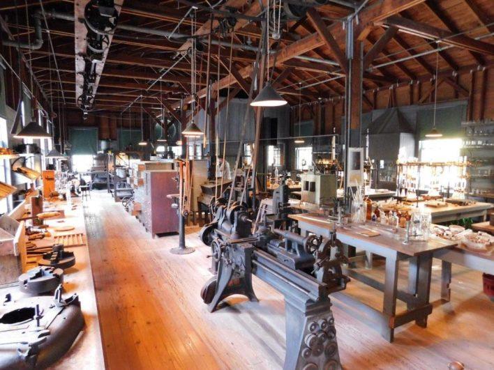Atelier botanique de Thomas Edison à Fort Myers en Floride