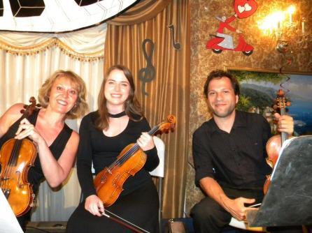 Les trois violonistes