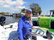"""Captain Andrea vous emmène faire le tour du """"backcountry"""" en bateau !"""