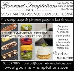 Gourmet Temptations à Surfside / Miami Beach