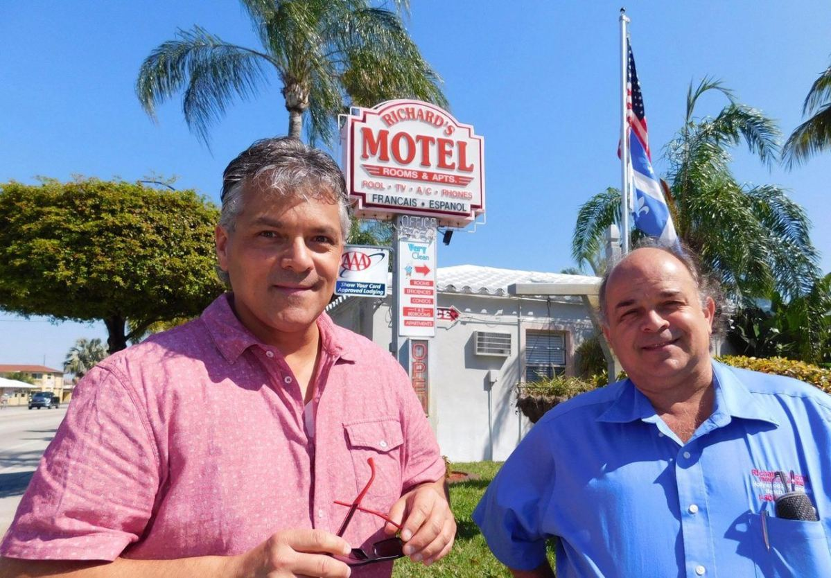 L'hôtel des francophones à Hollywood en Floride : Richard's Motel !