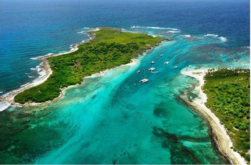 Les îles de la Petite Terre