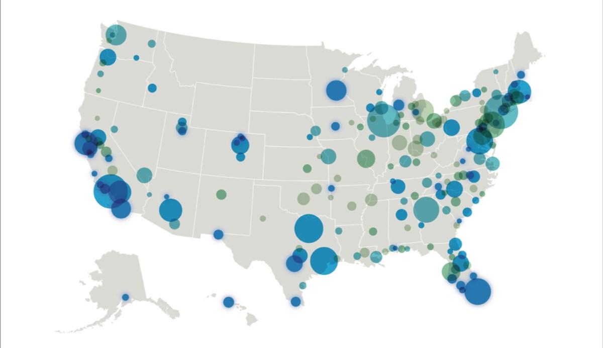 Etats-Unis : Classement des villes et Etats où on vit le mieux