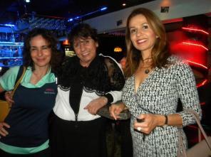 Catherine Edelson, Edwige Verne, Stéphanie Hirschenson Table ronde tourisme et Networking