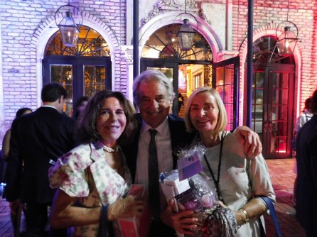 M. et Mme Jacques Brion (à gauche) au gala FACC Miami 2017.