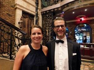 Pascale Villet et Gary Birnberg, la directrice et le président de la FACC MIami au gala 2017.