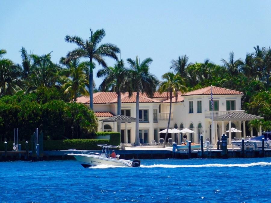 L'île de Palm Beach, en Floride