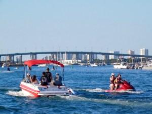 Le Blue Heron Bridge de Riviera Beach, en Floride