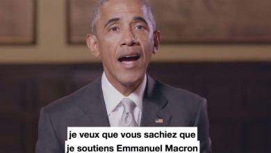 Photo of Obama sort de son silence pour soutenir Emmanuel Macron (vidéo)