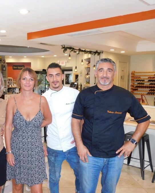 Nanou Bakery : restaurant, boulangerie, crêperie, sur Las Olas Plage à Fort Lauderdale en Floride
