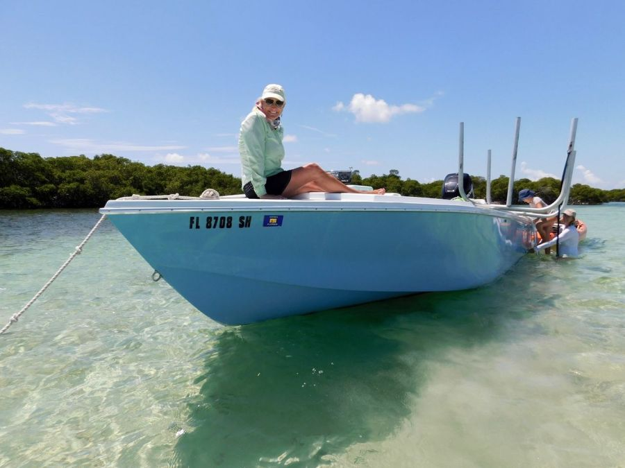 Captain Andrea Paulson / Backcountry des Lower Keys : Marvin Key et Barracuda Keys (Floride)