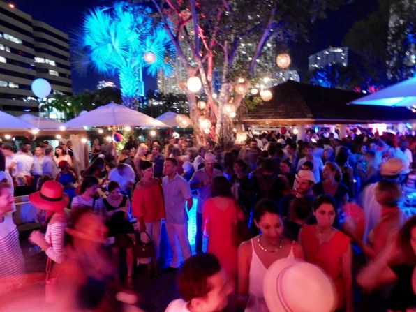 Bastille Day 2017 de French & Famous à Miami.