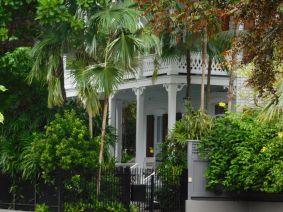 Paysages et vues générales de l'île de Key West en Floride.