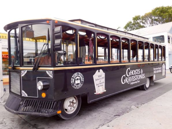 Ghost Tours de Key West : visites de nuit en bus !