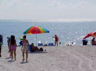 Plage de South Marco Beach à Marco Island (Floride)