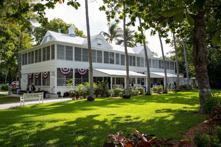 "La ""Little White House"" d'hiver du président Harry Truman à Key West"