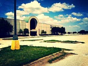 Mall abandonné aux Etats-Unis