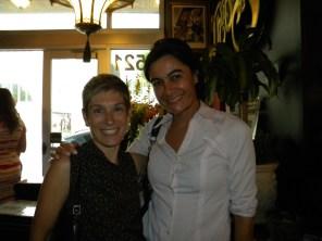 Elaine Brouca (consule) et Aude Slama (CCQF)