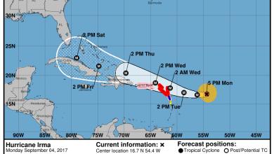Photo of Ouragan Irma : les Antilles menacées