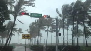Ouragan à Miami