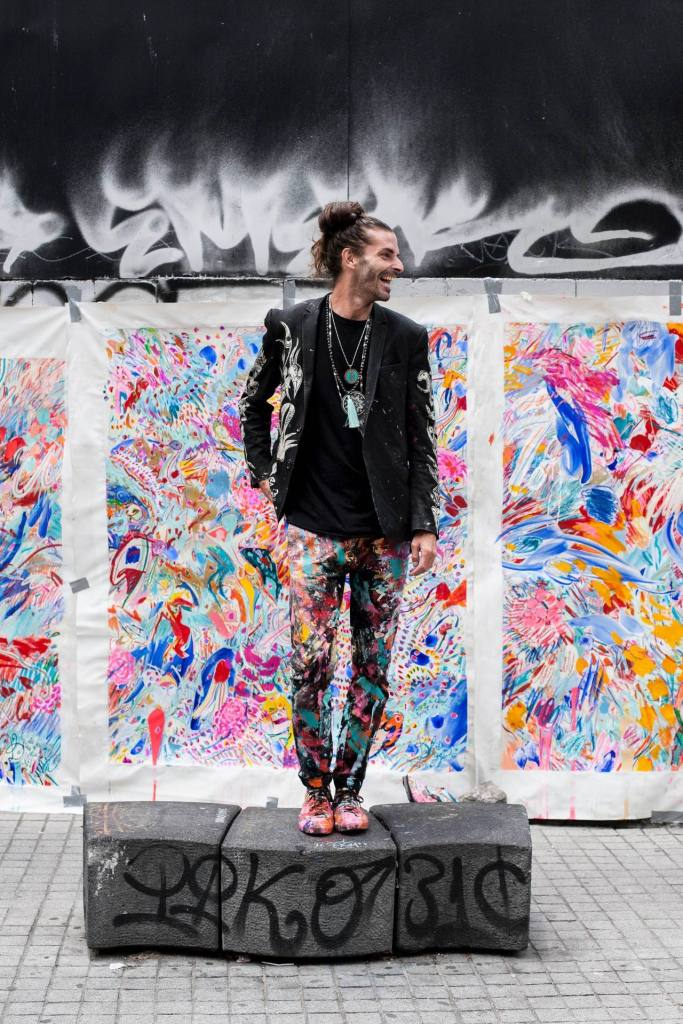 Carlito Dalceggio, artiste contemporain québécois