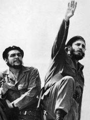 Cuba - Che Guevara et Fidele Castro en 1961