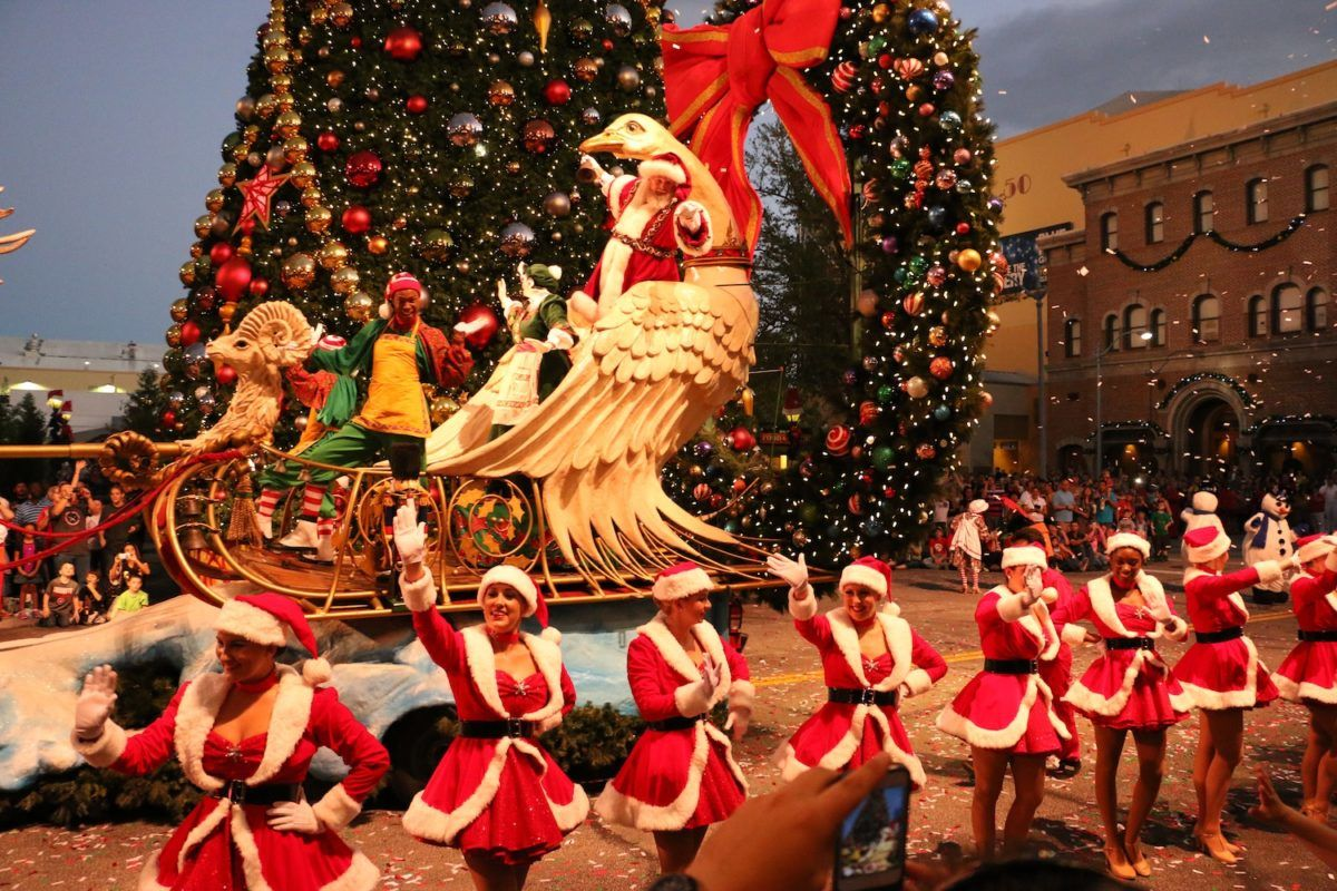 Parade de Noël - Universal Orlando