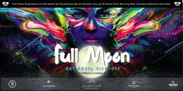 Soirée pleine lune de French & Famous pour Art Basel 2017