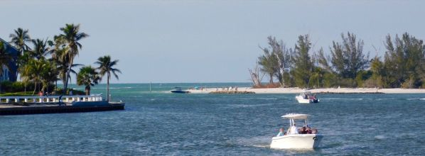 "La ""Red fish pass"" entre Captiva et North Captiva"