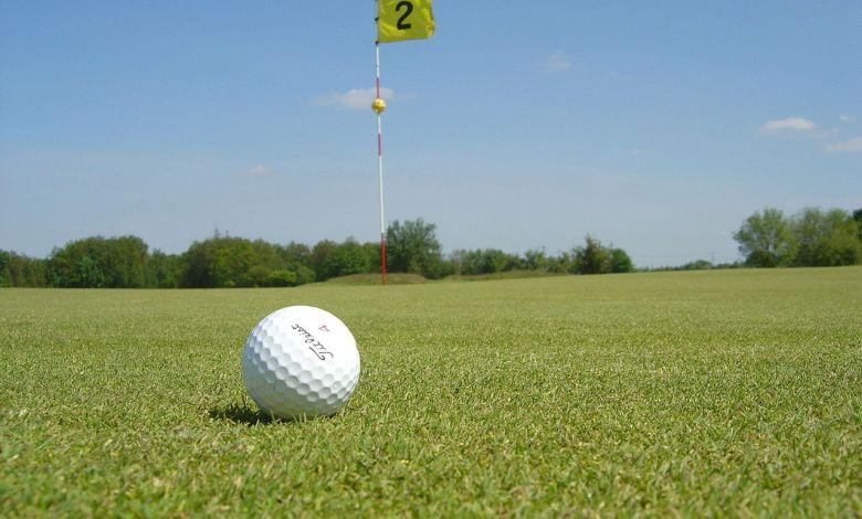 Golf et green