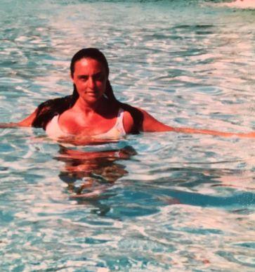 Milena Di Maulo à l'hôtel Diplomat de Hollywood en Floride