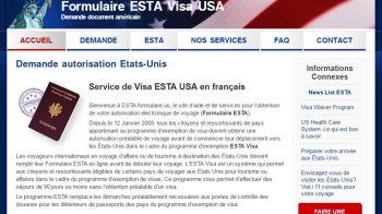 Site Internet ESTA