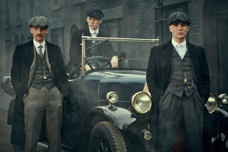 La série britannique Peaky Blinders