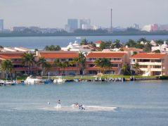 Lagune de Cancun au Mexique