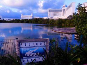 Zone hôtelière de Cancun au Mexique