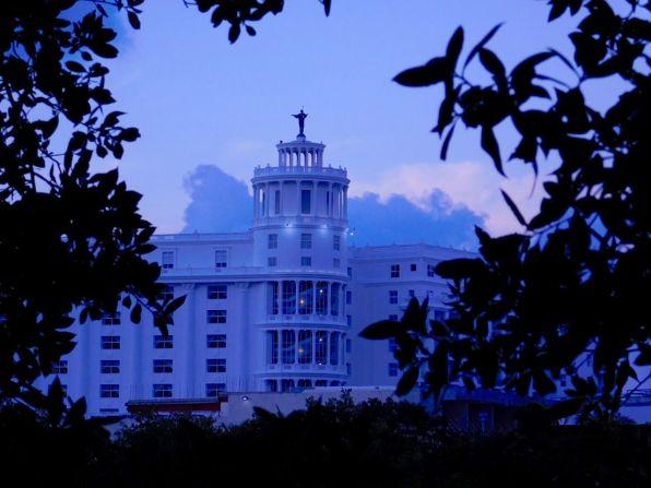 Zone hôtelière de Cancun au MexiqueZone hôtelière de Cancun au Mexique