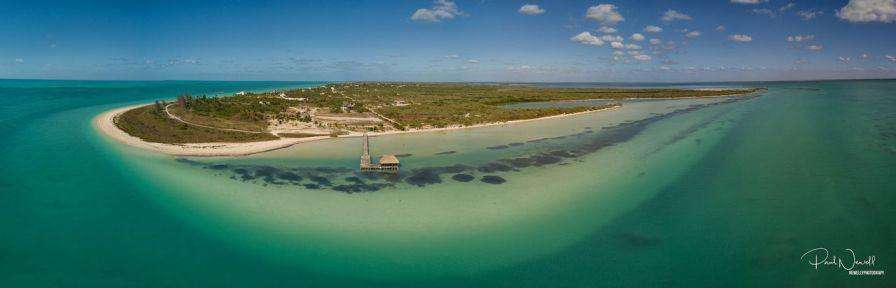 L'île de Isla Holbox, dans l'Etat-de Quintana Roo)